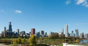 Chicagowska linia horyzontu Obraz Royalty Free
