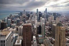 Chicagowska linia horyzontu Obraz Stock