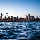 Chicagowska Linia horyzontu Zdjęcie Royalty Free