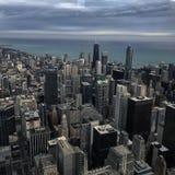 Chicagowska miasto linia horyzontu Zdjęcia Stock