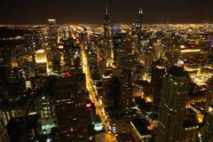 Chicagowska noc Obraz Stock