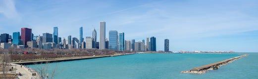 Chicagowska panorama Fotografia Stock