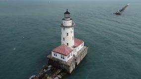 Chicagowska schronienie latarnia morska obraz stock