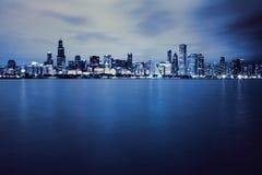 Chicagowski śródmieście fotografia royalty free