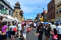 Chicagowski Chinatown lata jarmark 2016 Obraz Stock