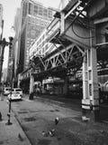 Chicagowski metro Obraz Royalty Free