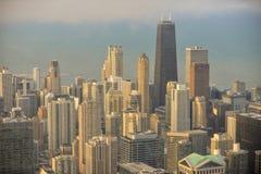Chicagowski miasto Zdjęcia Stock