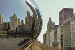 Chicagowski miasto Fotografia Royalty Free