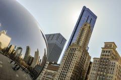Chicagowski miasto Obrazy Stock