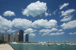 Chicagowski molo obraz royalty free