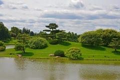Chicagowski Ogród Botaniczny fotografia stock