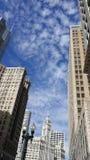 Chicagowski słoneczny dzień zdjęcia stock