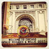 Chicagowski Theatre Fotografia Royalty Free