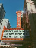 Chicagowski Theatre Fotografia Royalty Free