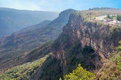 Chicamocha峡谷视图 图库摄影