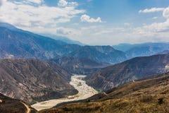 Chicamocha Canyon Mesa de Los Santos Santander Colombia stock photography