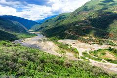 Chicamocha Canyon View Stock Photography