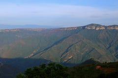 Chicamocha kanjon nära Bucaramanga, Colombia Royaltyfria Foton