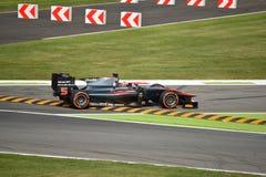 Chicane cutting by GP2 series leader Stoffel Vandoorne Stock Photo