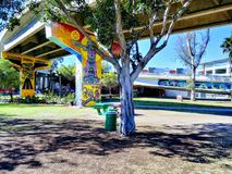 Chicano Park. A sunny, beautiful day in Chicano Park Stock Photo