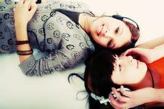 Chicas jóvenes Foto de archivo libre de regalías