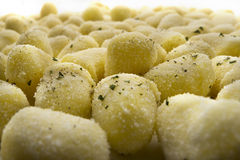 Chicche di patate (gnocchi) Photographie stock libre de droits