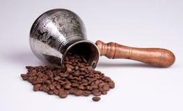 Chicchi di caffè, Fotografie Stock