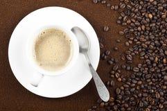 Chicchi di caffè. Fotografia Stock