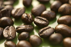 Chicchi di caffè 3 fotografia stock libera da diritti
