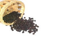 Chicchi di caffè Fotografia Stock