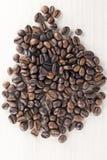 Chicchi di caffè bio- fotografie stock libere da diritti