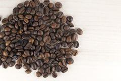 Chicchi di caffè bio- fotografia stock libera da diritti