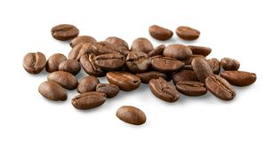 Chicchi di caffè naturali Fotografia Stock