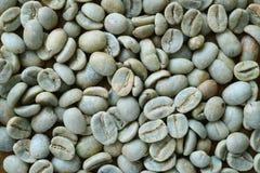 Chicchi di caffè non arrostiti Fotografia Stock Libera da Diritti