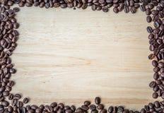 Chicchi di caff? arrostiti fotografia stock libera da diritti
