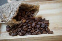Chicco di caffè arrostito Immagine Stock
