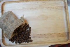 Chicco di caffè arrostito Fotografia Stock Libera da Diritti