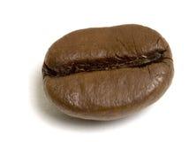 Chicco di caffè a macroistruzione Immagine Stock