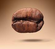 Chicco di caffè su fondo Fotografie Stock Libere da Diritti