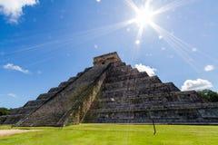 Chichén Itzá Arkivbild
