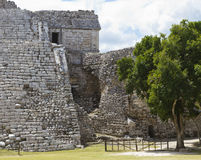 Chichén Itzá Las Monjas Stock Foto's