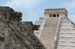 Chichén Itzá. In Mexico the famous ruines Royalty Free Stock Photos