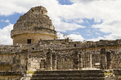 Chichén Itzá El Caracol Stock Images