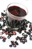 Chicha-morada Purpur Stockbild
