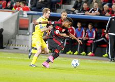 Chicharito Bayer Leverkusen Royalty Free Stock Image