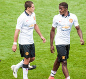 Chicharito Hernandez and Zaha Royalty Free Stock Image