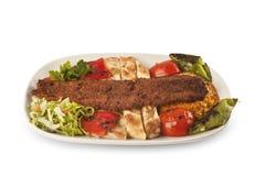 Chiche-kebab d'Adana de turc Images stock