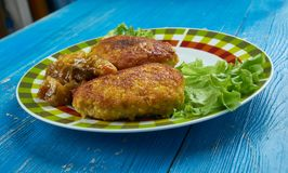 Chiche-kebab de Chapli Image libre de droits