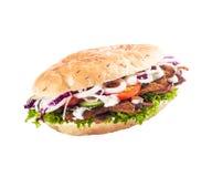 Chiche-kebab ou döner sain images libres de droits