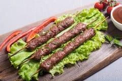 Chiche-kebab ou Lula-chiche-kebab images stock